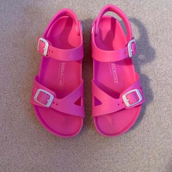 ece62ea13bc9 Birkenstock Other - Girls Bubble Gum Pink Rubber Birkenstock s Sz 33